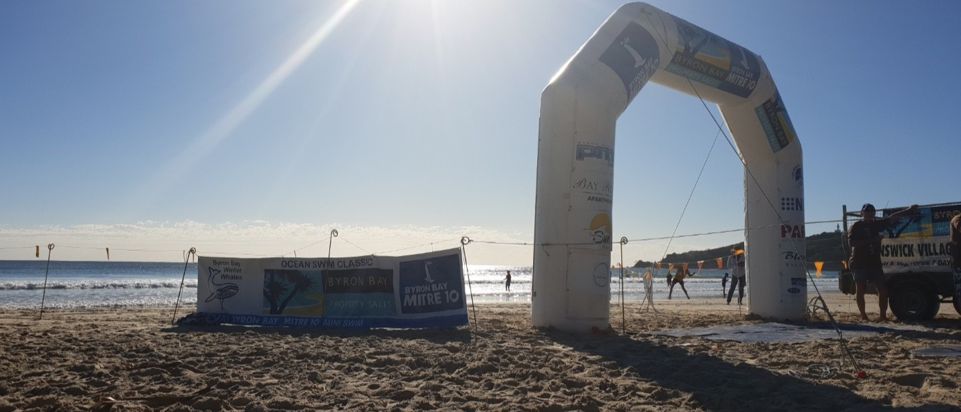 $3000 for 3km ocean swim